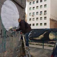 Chupa_skull _el artista_trabajando