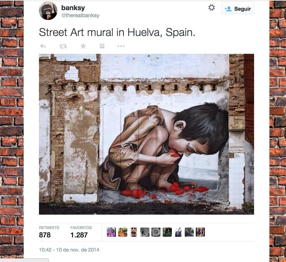 Banksy estuvo en Huelva
