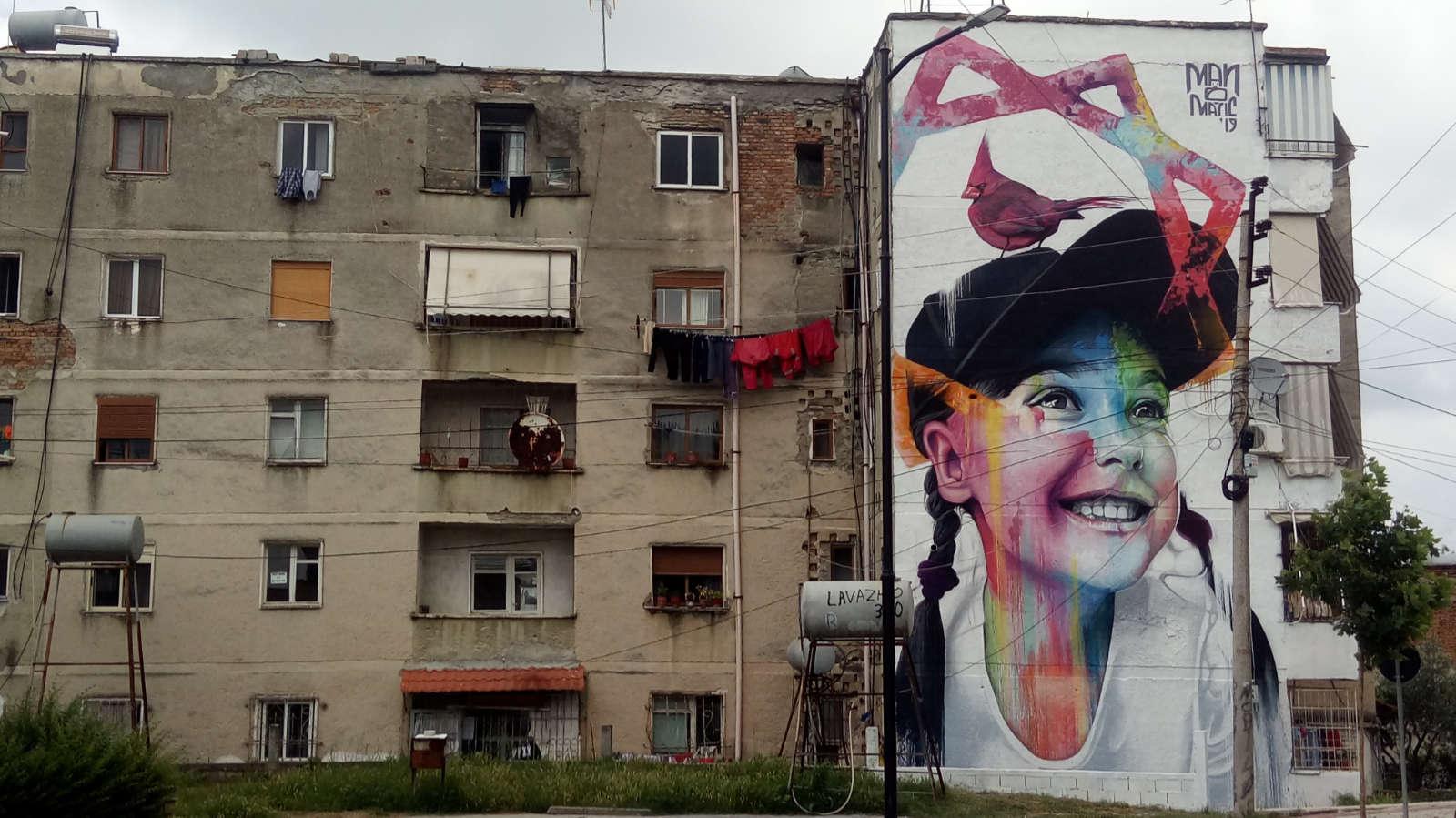 Obra social de arte urbano