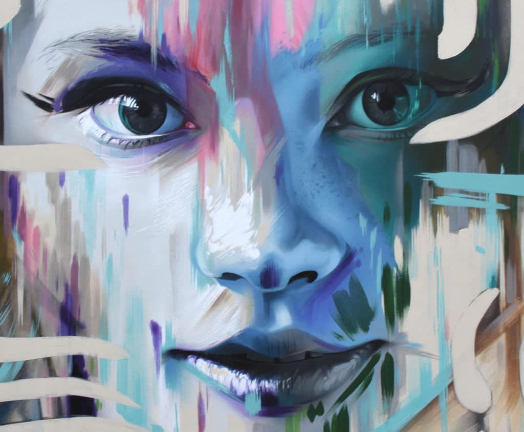 street art inspirado en el cine