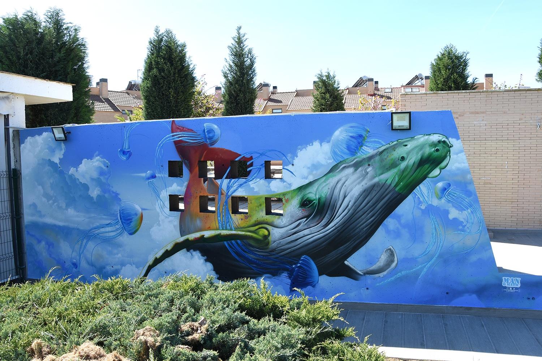 graffiti ballena