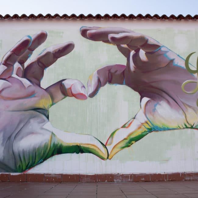 Graffiti contra el cancer infantil
