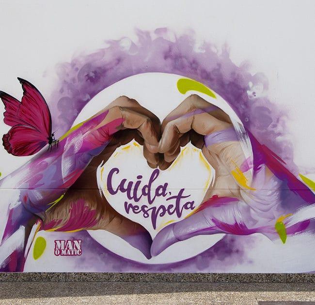 Arte Urbano contra la violencia de género
