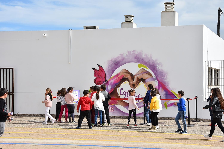graffiti en Lepe