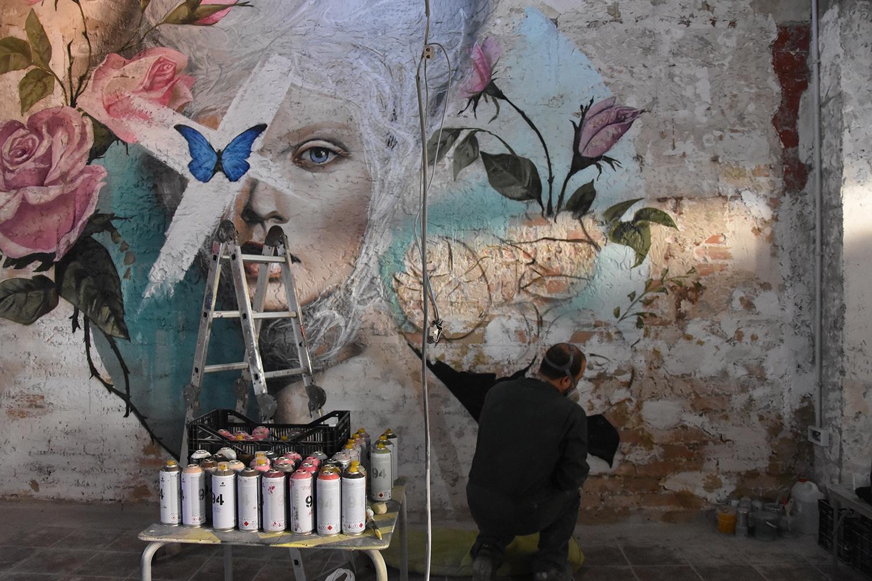 ultimos trazos de graffiti