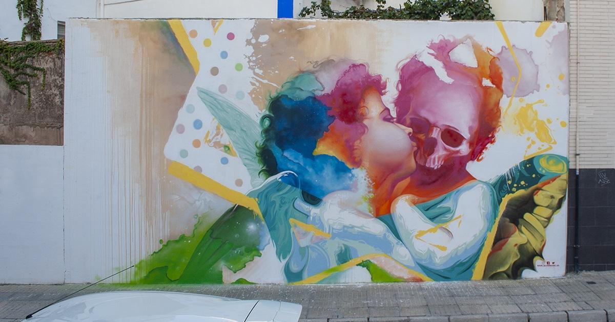 Street art en Valencia