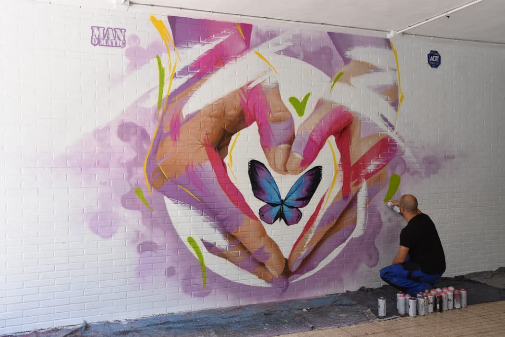arte urbano pacto de estado en huelva