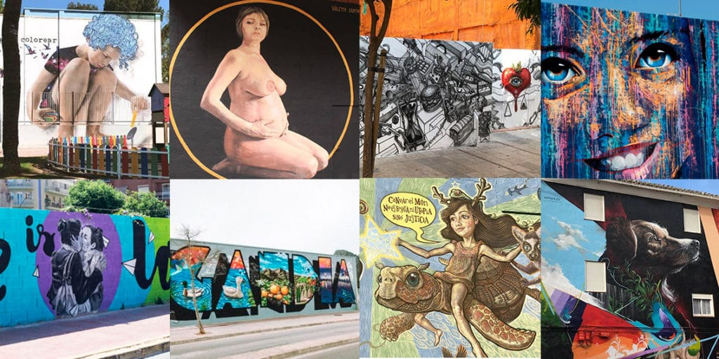 Muestra de street art del Serpis Urban Art Proyect