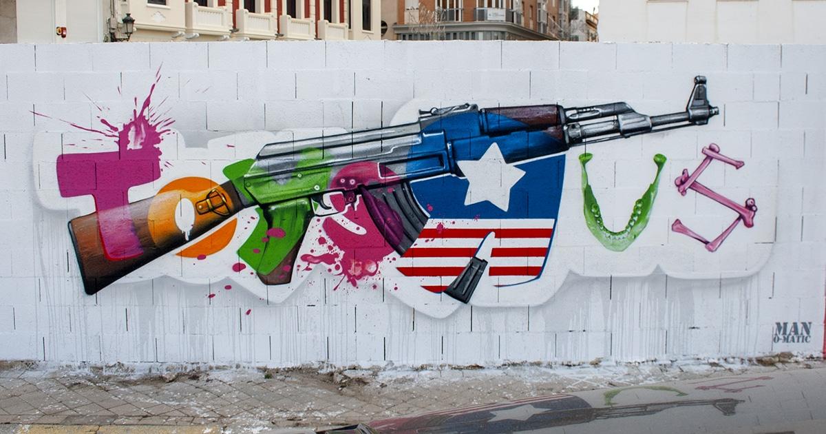 Obra social de street art