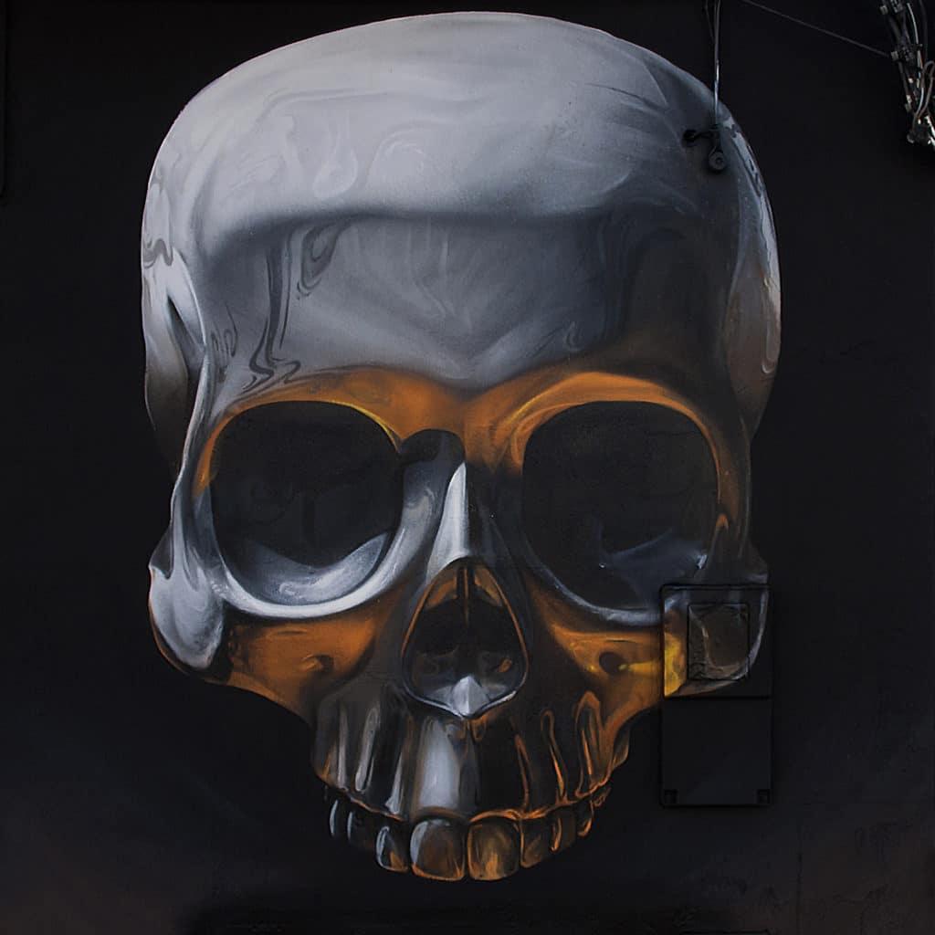 graffiti craneo skull