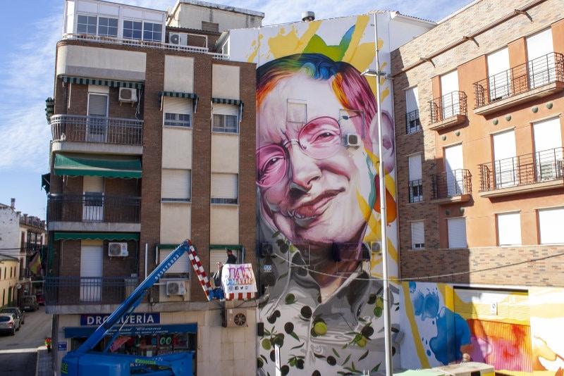 street art en Jaen por Manomatic
