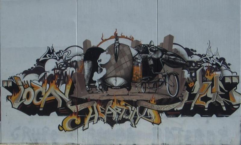 graffiti de Logan en Sevilla