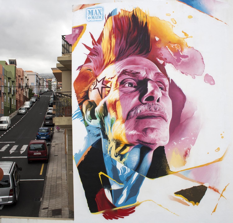 Festival de arte urbano en Tenerife