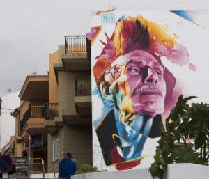 graffiti en Tenerife