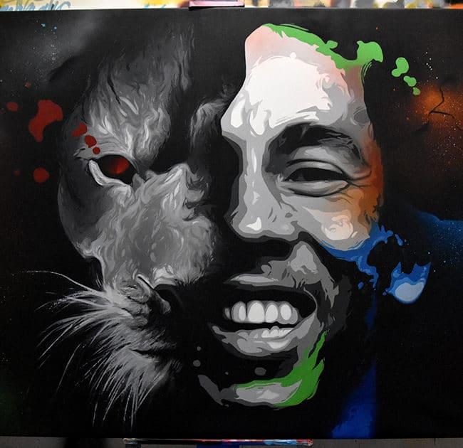Bob Marley por Manomatic