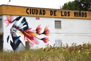 graffiti ciudad de los niños