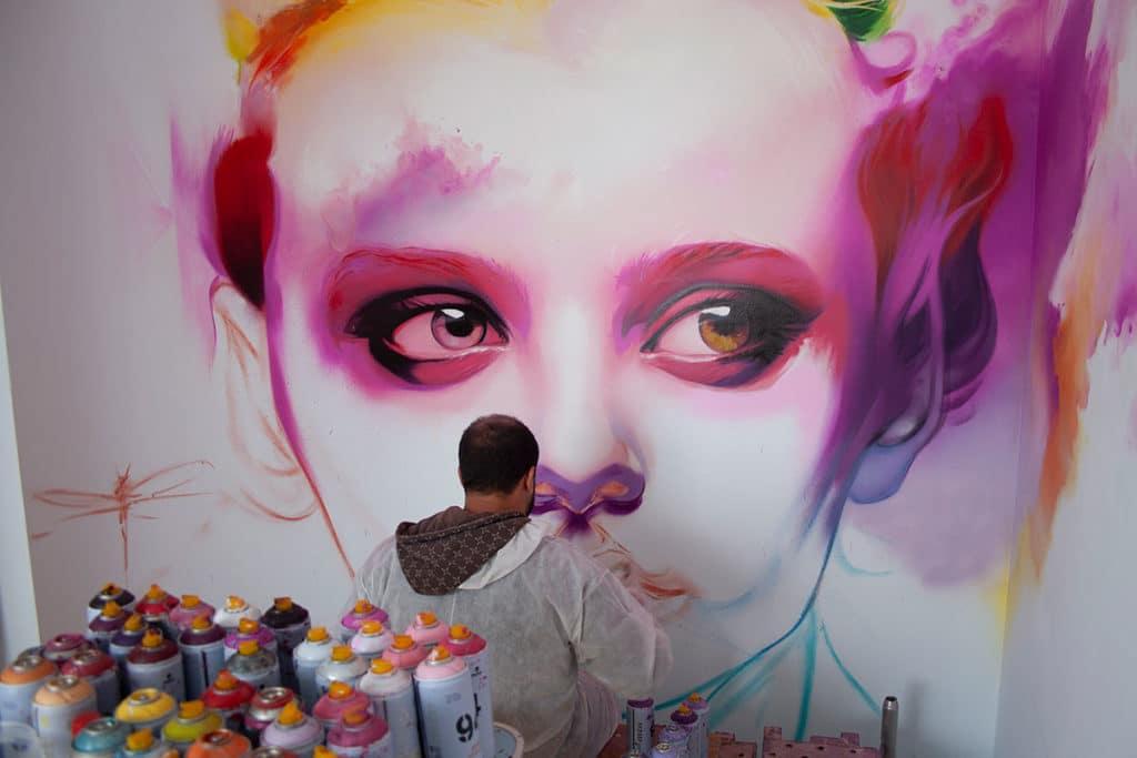 pintar graffiti