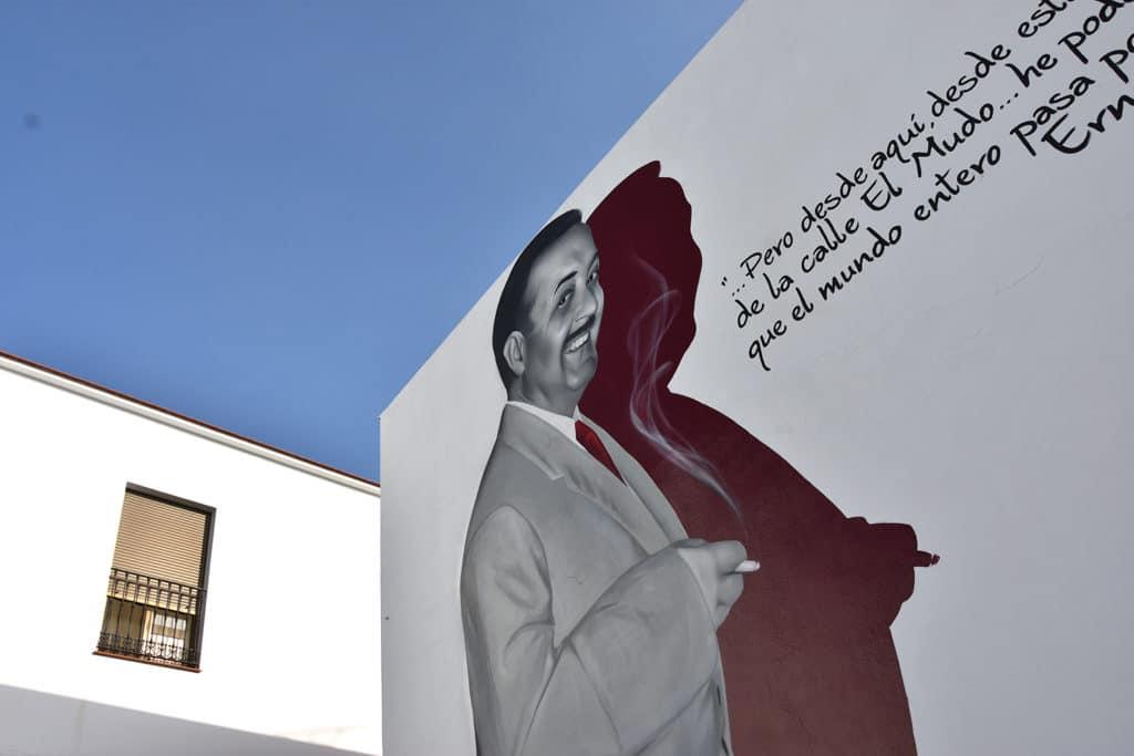 graffiti homenaje