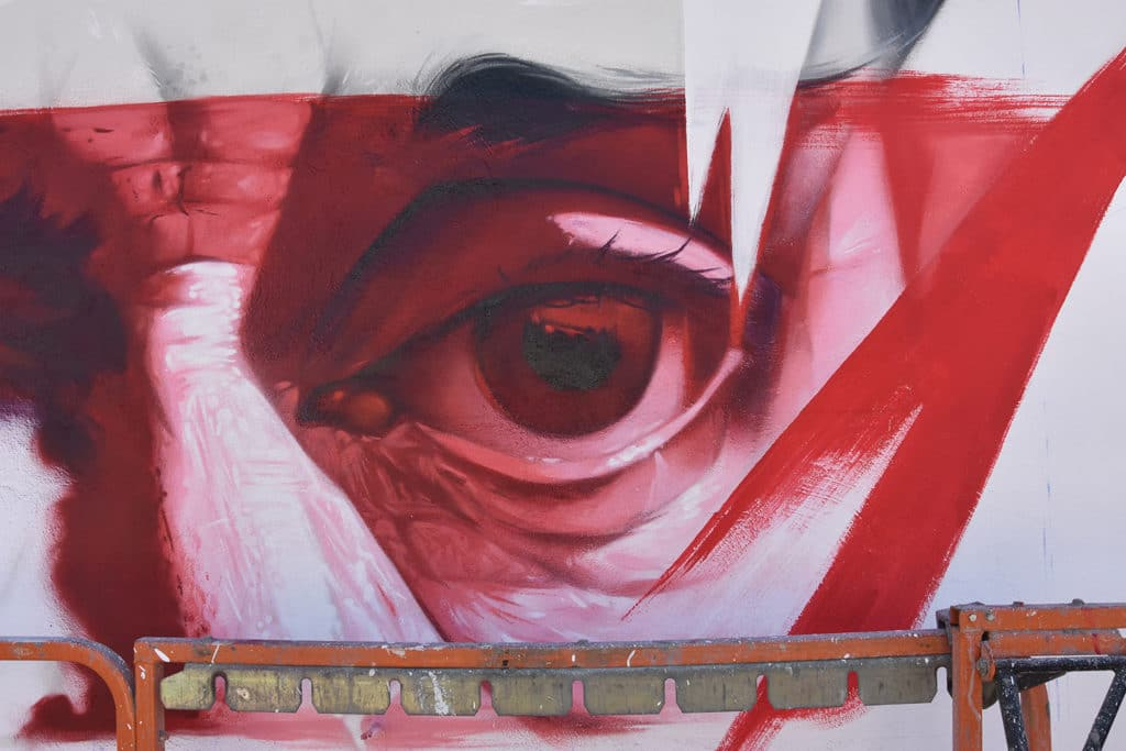 Vicente Blasco Ibañez en Graffitea Cheste