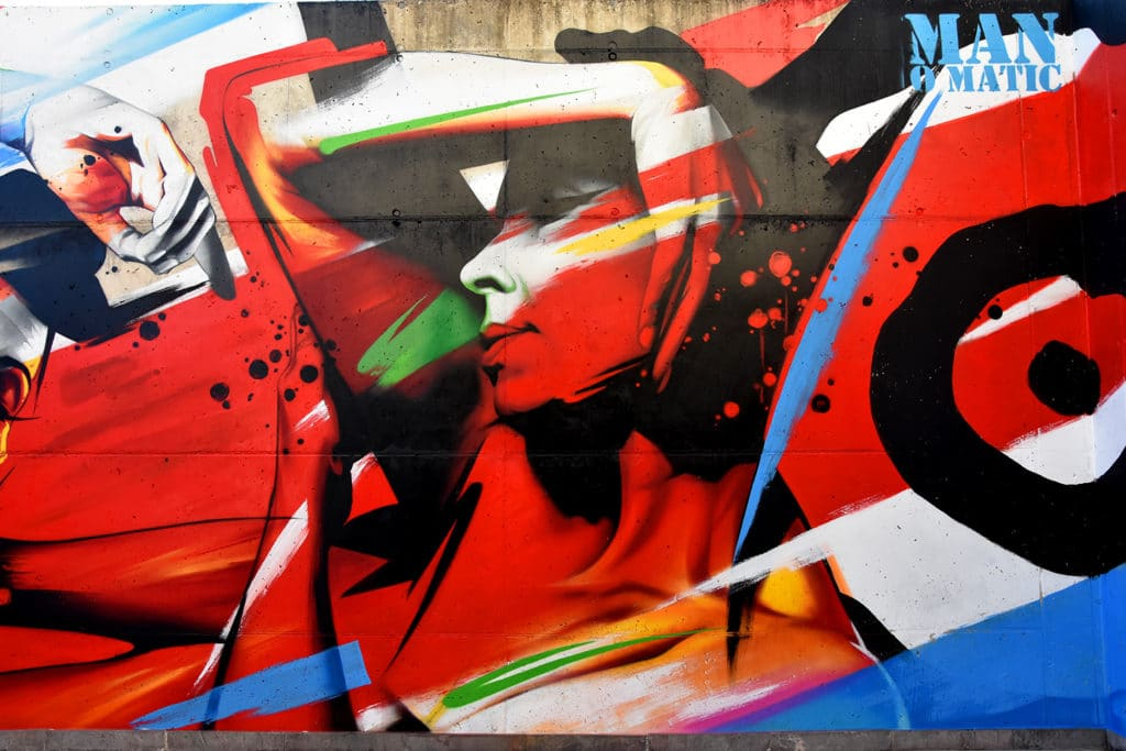 graffiti contemporáneo