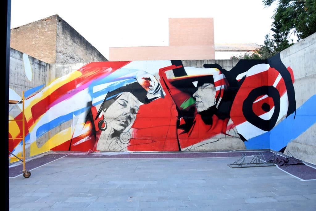 El arte mural contemporáneo