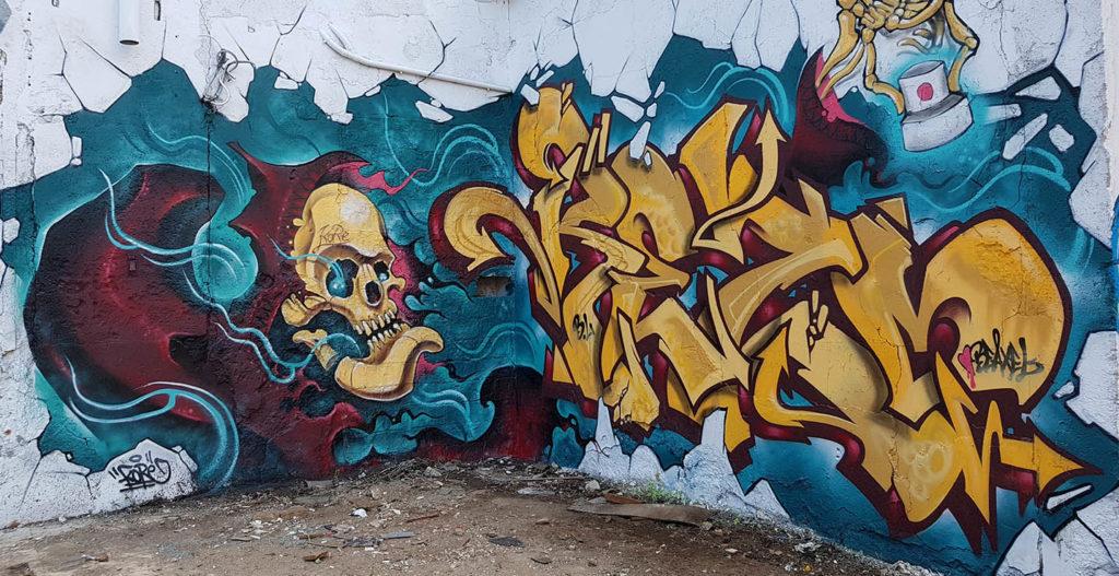 kore y rezo graffiti