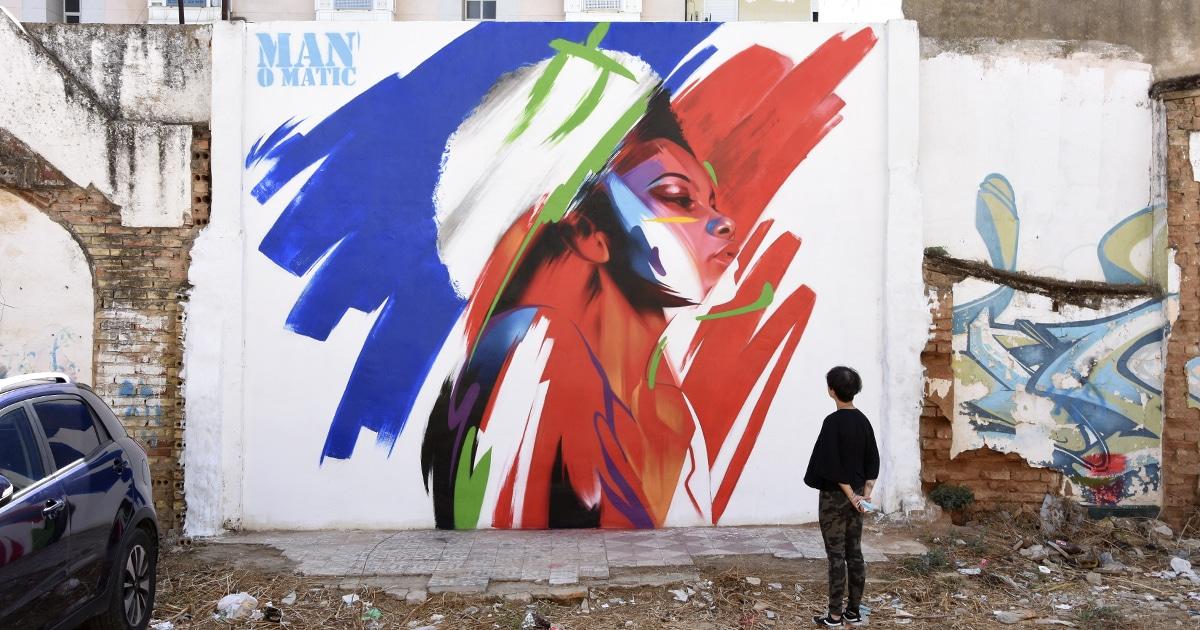 graffiti hiperrealista