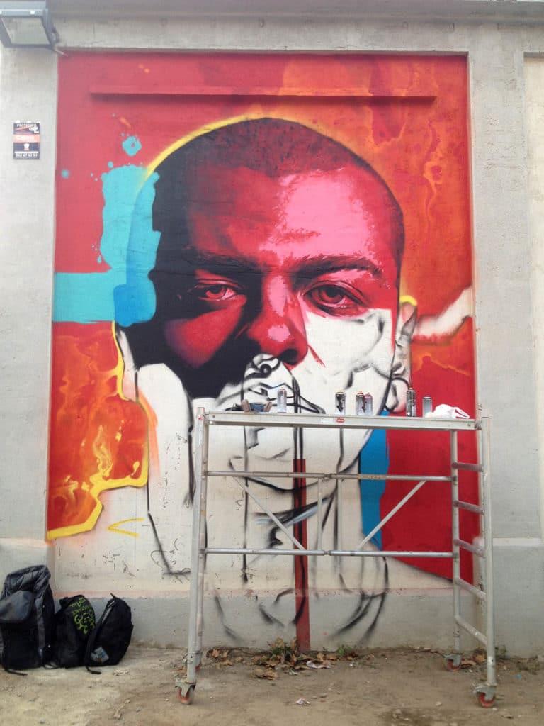 El arte urbano en Barcelona