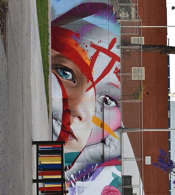 arte urbano en moguer