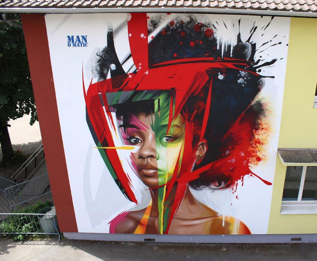 Graffiti y arte urbano en los Alpes Franceses